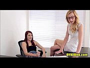 Teen Girl Fucks Her Female French Tutor - DYKEDhd.com