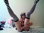 big tranny dick &amp_ long legs!