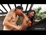 oiled bigtit ebony teen fucked
