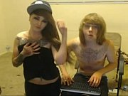 emo couple webcam blowjob