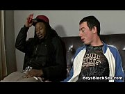 Black Muscular Dude Fuck White Gay Boy 04