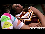 Cute Alone Girl (jenna rose) Masturbates With Sex Dildos Toys clip-11
