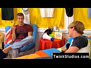 Young gay twinks sacking big cocks Gabriel has issues with his