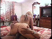 blond ho in fishnet getting fucked