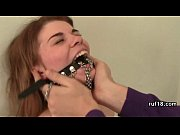 bondage teen to cum