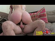 fakeagentuk tall blonde milf craves hard cock in.