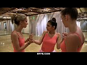 bffs - cute petite ballerina fucked by her friends