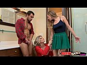 Cory Chase and Sydney Cole cum facialed by horny boyfriend