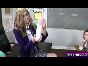 Cock riding blonde college girl in detention