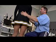 Hot Cheerleader Fucked at the Gym!