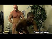 muscular ebony hunk fucked by a.