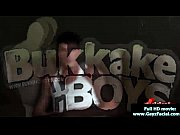 bukkake boys - gay guys get covered in.