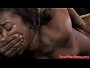 Ebony in La crapaudine spanked and toyed