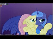 fluttershy &amp_ luna lucent dreams