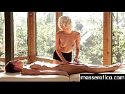 gorgeous masseuse explores the body of a sexy.