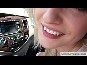 czech blonde teen gives blowjob in car and fucks