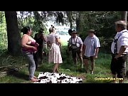 lederhosen gangbang with bbw chicks