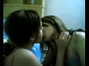 muslim sisters kiss before prayers