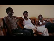 black african twink bareback threesome