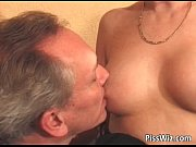 horny brunette gets that pierced pussy