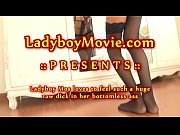 ladyboy mos jumping on huge raw.