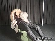 hot blonde gets ass and pussy.