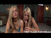Two blonde sluts taking turns sucking your cock JOI