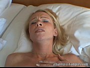 hot blonde gets a deep risky.
