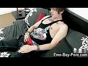Sexy men Big prick emo dude Zackary Starr retunes to showcase off his