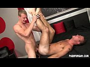 straight amateur hunk gets fucked anally.