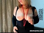 Mature Webcam Woman Gets Naked
