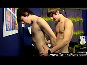 Gay movie of When lad celeb boy Kyler gets a massage, he expects some