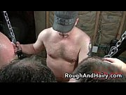 Group gay scene with bondage and cock gay porn