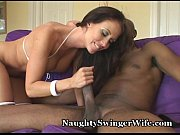 wifey swallows an extremely huge cock