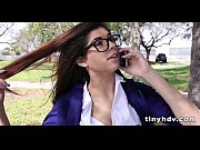 Nerdy teen with glasses gets nailed_1 91