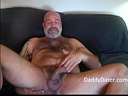 hairy daddybear jacks off and blows.