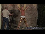 Teen boy anal sock gay sex first time Slave Boy Made To Squirt