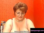 Mature Granny Masturbates Private Webcam Session