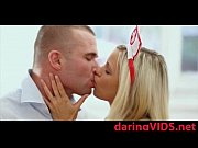 Passion sex wita a stunning blonde nurse