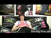 gay movie of hot emo guy alexander jerks.