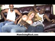 milf gets an interracial cock penetration.