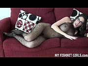 Watch me play with my pussy in fishnets JOI