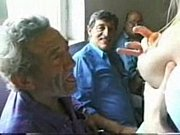 young slut having fun with old italian men..