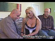tasty blonde gets drilled as hubby.