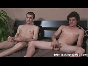 Straight Bobby &amp_ Rocco blowing cock gay boys