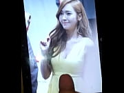 cum tribute snsd jessica yellow dress