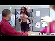 slut big juggs girl get wild in office.