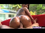 wet oiled big ass girl get deep nailed.