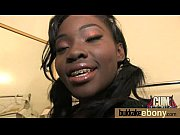 Gorgeous ebony lady sucks white dicks and gangbang fucking 20