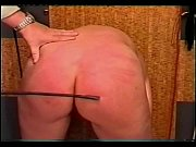 Slave beding over and getting her ass spanked